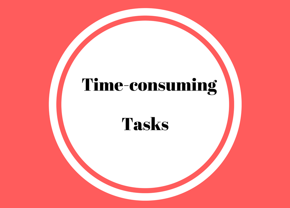 Time-consuming tasks: Content Marketing Plan